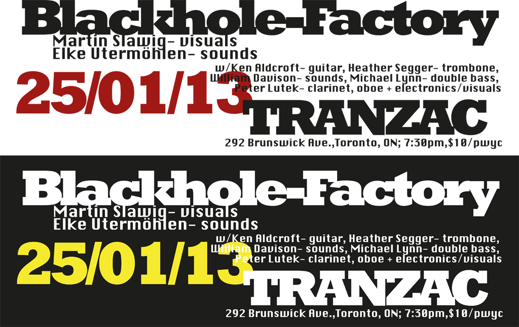 Blackhole-Factory- Tranzac outlines